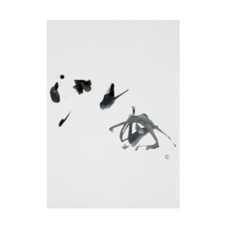 海 =sea= Stickable poster