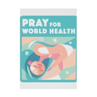 眠り・世界の健康 Stickable Poster