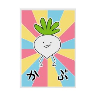 ジェリーゼリーショップ in SUZURIのかぶ!!!!!吸着ターポリン Stickable poster