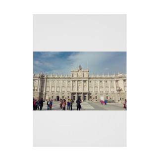 スペイン王宮の思い出 Stickable tarpaulin