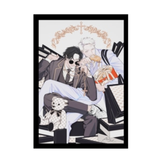ビリー・バリバリーのSHOPPING:WHITE Stickable poster