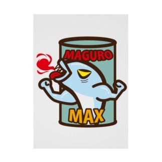 マグロマックス缶詰 Stickable poster