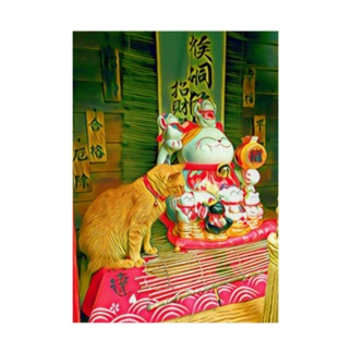 【ポスター】猫と神様 Stickable Poster