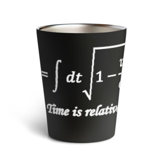 time is relative Thermo Tumbler