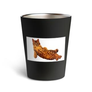 Elegant Cat ③ Thermo Tumbler