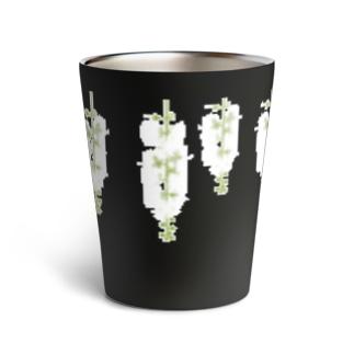 西表島の白い花(サガリバナ) Thermo Tumbler