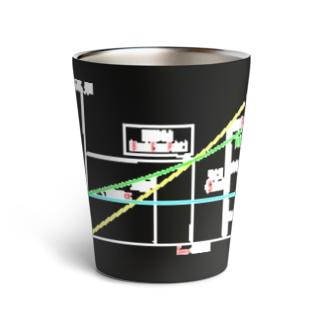 損益分岐点分析(BEP) 濃い色 Thermo Tumbler