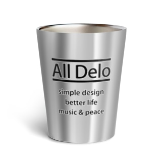 United Sweet Soul MerchのAll Delo - better life Thermo Tumbler