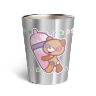 【Teddy bear】 Thermo Tumbler