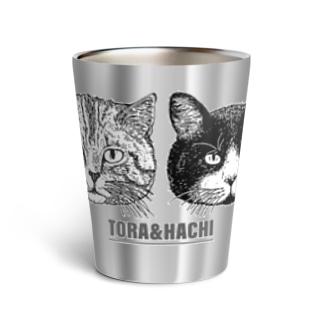 トラとハチ Thermo Tumbler