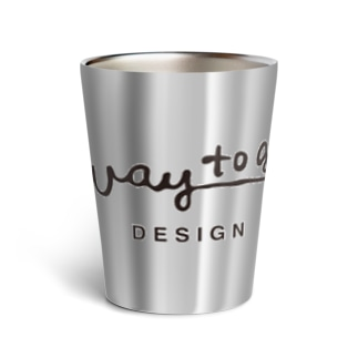 way to go design ロゴ・クロ Thermo Tumbler