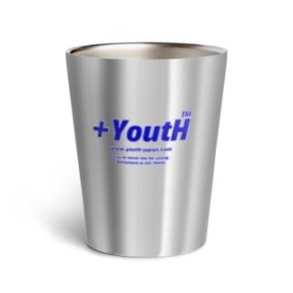 +YoutH logo Thermo Tumbler
