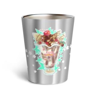 純喫茶ヌッコ★チョコレートサビネコパフェ Thermo Tumbler