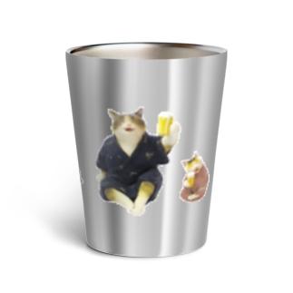 猫の宴 カンパ~イ☆ Thermo Tumbler