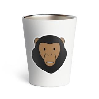 チンパンジー Thermo Tumbler