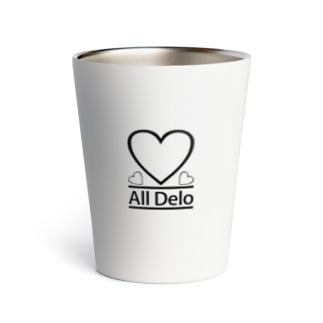 United Sweet Soul MerchのAll Delo - HEART Thermo Tumbler