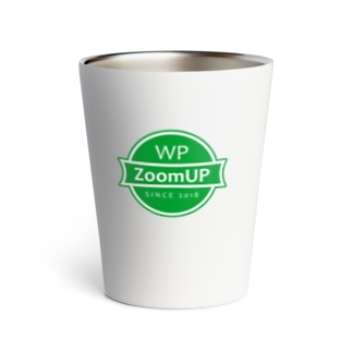 WP ZoomUP ロゴ(Green) Thermo Tumbler
