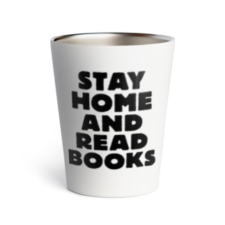 SAIWAI DESIGN STOREのSTAY HOME AND READ BOOKS Thermo Tumbler