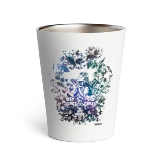 [helocdesign] pray for... Thermo Tumbler