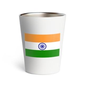 india インド 国旗 旗 Thermo Tumbler