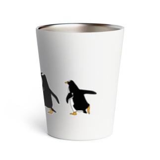 急ぐペンギン Thermo Tumbler