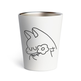simple line いぬ Thermo Tumbler