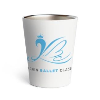 Karin ballet class ロゴ  Thermo Tumbler