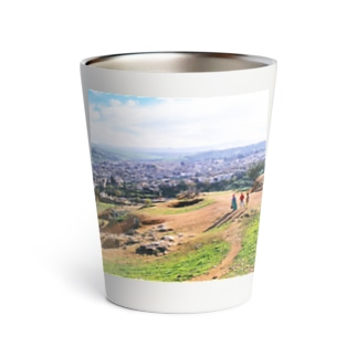 FUCHSGOLDのモロッコ:フェズの遠景写真 Morocco: view of Fez Thermo Tumbler
