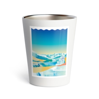 Summer Snow Thermo Tumbler