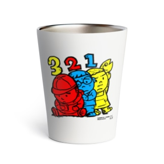 3 Bros. Colored (三兄弟。3色。) Thermo Tumbler