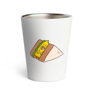 Cutie Funny Universe[ キューティー・ファニー・ユニバース ]のひよこサンドイッチ Thermo Tumbler
