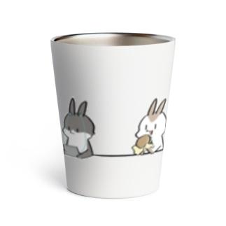 ウサギとカウンター Thermo Tumbler