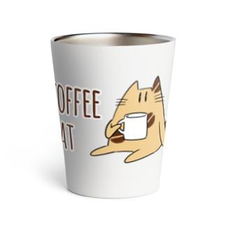 COFFEE CAT Thermo Tumbler
