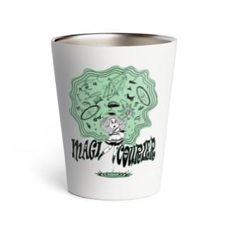 """MAGI COURIER"" green #1 Thermo Tumbler"