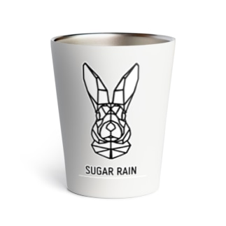Sugar Rain geometric rabbit Thermo Tumbler