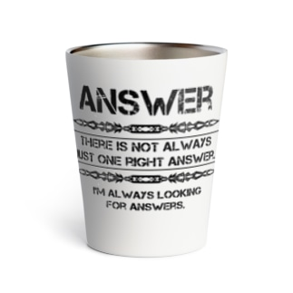 Answer Thermo Tumbler