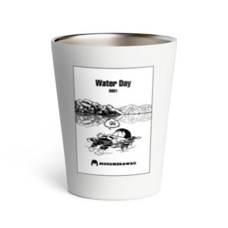 0801「#水の日 」 Thermo Tumbler