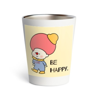 BE HAPPY. Thermo Tumbler