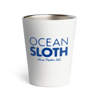 OCEAN SLOTH ロゴ&ボート Thermo Tumbler