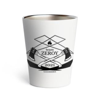 team ZEROY サマーアイテム Thermo Tumbler