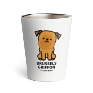 BRUSSELS GRIFFON(レッド) Thermo Tumbler