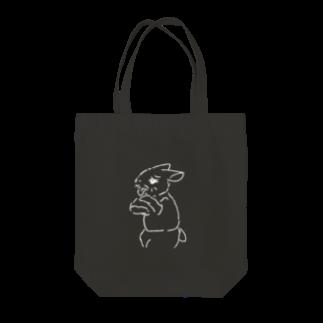 AngelRabbitsのうさぎむすこ(白8) トートバッグ
