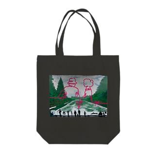 代々木公園にあるユキンコ壁画 トートバッグ