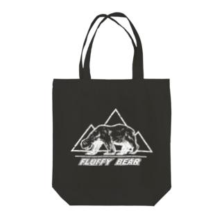 クマッフィ(黒) Tote bags