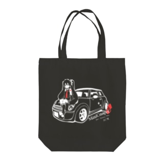 MINI Cooper S fert.初音ミク Tote bags