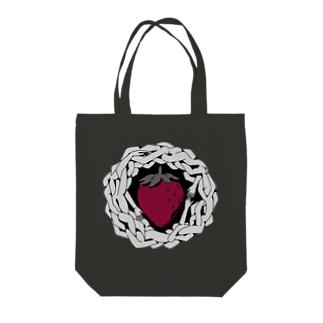 わたしの苺 Tote bags