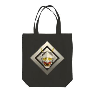 HANNYA@BUNGU Tote bags