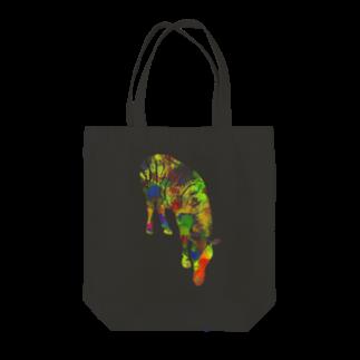 昆布しょうゆのzebra Tote bags