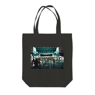 京都駅改札 トートバッグ