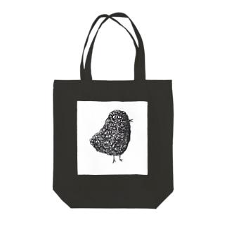 black-bird Tote bags